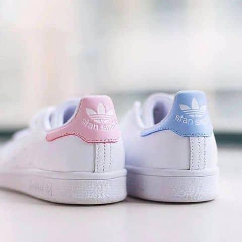sweden adidas stan smith baby lyserød 5a39a a1680