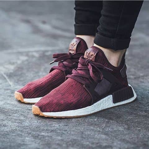 Adidas NMD XR1 Duck Camo Womens Vapour GreyIce PurpleOff