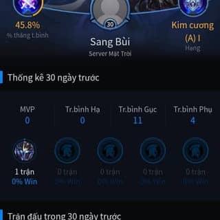 Bán acc Liên quân mobile của bmslang tại Quảng Ngãi - 3837801