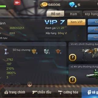 Bán acc tập kích của chauthang1 tại Cần Thơ - 3306045