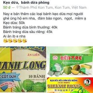 Bánh kẹo dừa,  sầu riêng của daihoa13 tại Kon Tum - 1725700