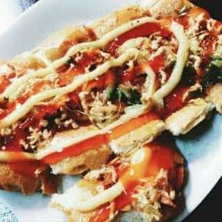 Bánh mì nướng muối ớt chà bông của 0976437192 tại Chợ Trà Vinh, phường 3, Thị Xã Trà Vinh, Trà Vinh - 1128130