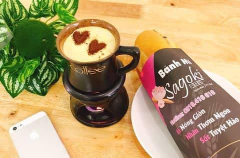 Bánh mỳ đặc biệt+ Cà phê trứng - 4802497 sagoki - Sagoki - Trà Sữa Nhật Bản - Tô Hiệu - 22 khu 5 tầng Tô Hiệu, Hồ Nam, Quận Lê Chân, Hải Phòng