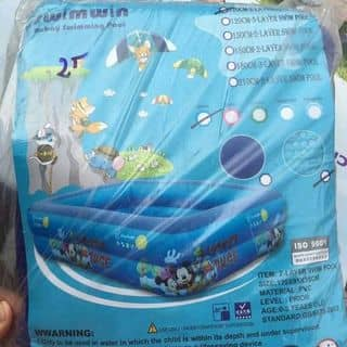 Bể bơi của mai161042017 tại 158 Ba Mỏ,  TT. Thanh Sơn, Huyện Thanh Sơn, Phú Thọ - 3067681