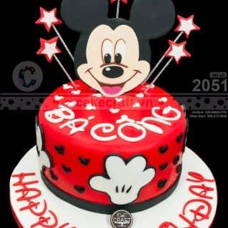 Bé chuột Mickey Bá Công - Bánh kem sinh nhật tạo hình theo yêu cầu của tiembanh_cakecraft tại (Giao hàng tận nơi) Số 32 Nội khu Mỹ Toàn 2, Phú Mỹ Hưng, P. Tân Phong, Quận 7, Hồ Chí Minh - 4240878