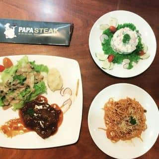 Beefsteak, spaghetti and salad của thuytrangchu1 tại 83 Thái Phiên, Quận Hải Châu, Đà Nẵng - 482345