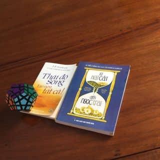 Bộ 2 quyển Từ Hạt Cát Đến Ngọc Trai và Thái Độ Sống Tạp Nên Tất Cả của songthimau tại Trà Vinh - 2926628