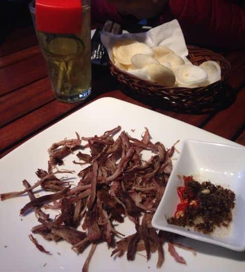 Bò khô chấm trứng kiến vàng - 229150 karuki34 - Vuvuzela Beer Club - Nguyễn Bỉnh Khiêm - 11B Nguyễn Bỉnh Khiêm, Quận 1, Hồ Chí Minh