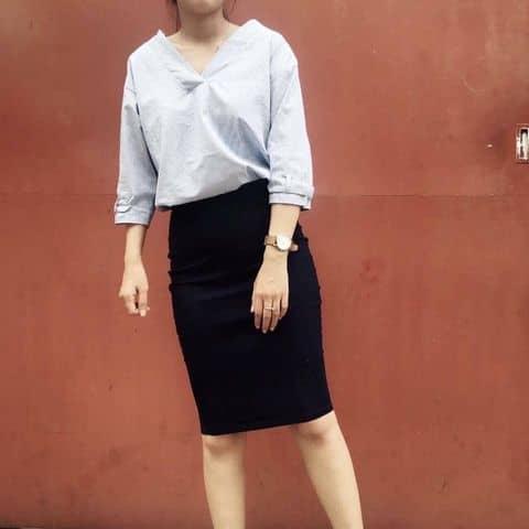 Chân váy bút chì công sở zara new 100% - 2727833 tiffanyle2 - Red river  - 01694185025, Quận Tân Phú, Hồ Chí Minh