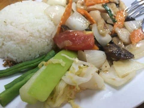 Cơm cá quả xào hành nấm - 538292 nguyenhaiyen1811 - Cơm 123 - Kim Mã - 365 Kim Mã, Quận Ba Đình, Hà Nội