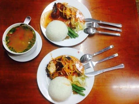 Cơm gà 123 + canh ngao - 2438786 linhnhim2 - Cơm 123 - Kim Mã - 365 Kim Mã, Quận Ba Đình, Hà Nội