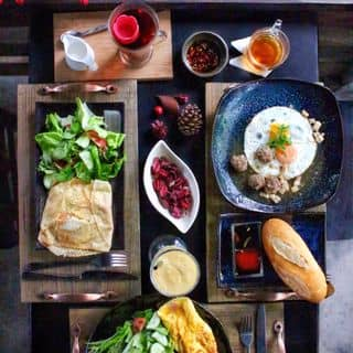Crepe mặn + bánh mì xíu mại của windy.smile.90 tại 6 Huỳnh THúc KHáng, Thành Phố Đà Lạt, Lâm Đồng - 2996061