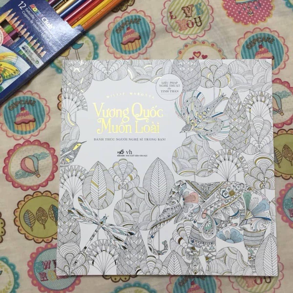 Cunguoimoita Sach To Mau Vuong Quoc Muon Loai Healingbook Coloringbook Sachtomau Tai Minh Chau Cua