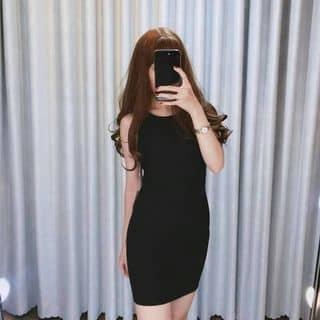 Đầm suông gân có khoá lưng của xinhthoitrang tại Bình Thuận - 2936397