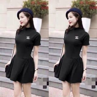 Đầm tay con logo chanel của nuongnhu tại 422 Quốc Lộ 1A, Huyện Châu Thành, Sóc Trăng - 1506687