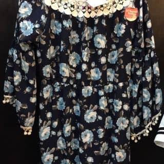 đầm trê vai hoa của hannah90nguyen tại 19 Đinh Tiên Hoàng, Phú Hậu, Thành Phố Huế, Thừa Thiên Huế - 546620