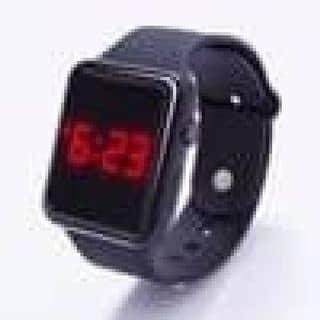 Đồng hồ LED nhiều màu kiểu dáng Smartwatch có nút bấm - Đồng hồ dây silicon LED của trinhkhoa121 tại Tây Ninh - 3634526
