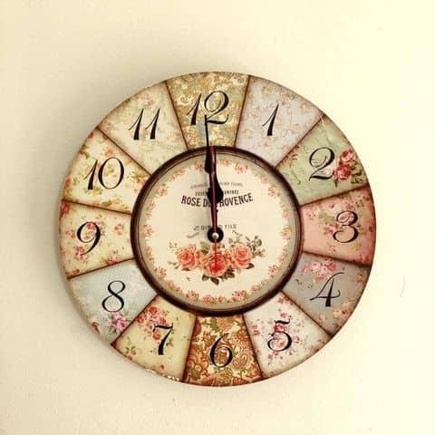 Kết quả hình ảnh cho đồng hồ treo tường 6. Đậm chất Vintage