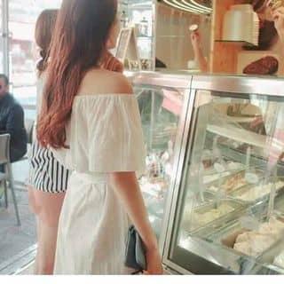 [FREESHIP,tphcm, có quà ] Đầm lệch vai trắng có nơ  120k của mandylam tại Hồ Chí Minh - 3851812