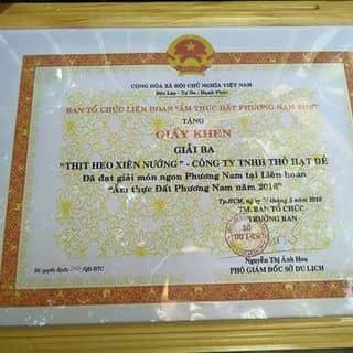 Giải ba thịt heo xiên nướng (mooping) của himom tại 5 Nguyễn Tất Thành, 12, Quận 4, Hồ Chí Minh - 648535