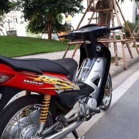 Honda Wave rs 100 màu đỏ đen