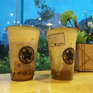 Hồng trà kem phô mai trân châu sợi + Trà xanh kem phô mai trân châu sợi của phuongto1 tại 83 Nguyễn Thái Học, Cầu Ông Lãnh, Quận 1, Hồ Chí Minh - 5051417
