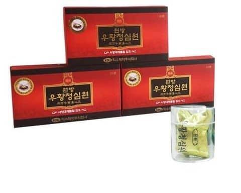 IKSU An cung ngưu hoàng hoàn đỏ Hàn Quốc