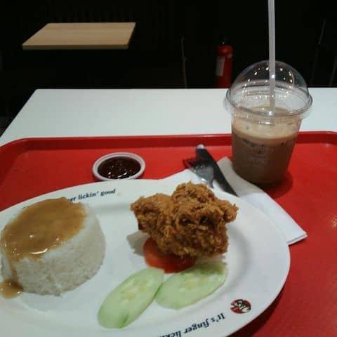 Các hình ảnh được chụp tại KFC - Times City