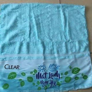Khăn tắm khuyến mại của Clear của thanhnga206 tại Ninh Bình - 3233830