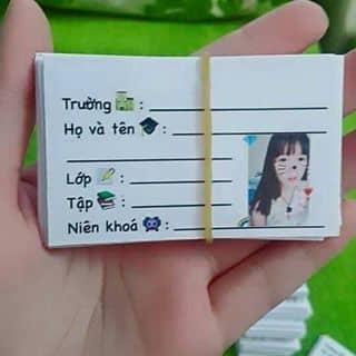 Nhận in nhãn vở theoo nhu cầu 😘❤ của thipham13 tại 449/94D Lê Quang Định, phường 5, Quận Bình Thạnh, Hồ Chí Minh - 3843579