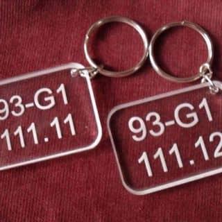 Nhận làm móc chìa khoá. In ảnh in áo của hoangtuananh23 tại Shop online, Huyện Chợ Mới, Bắc Kạn - 3816128