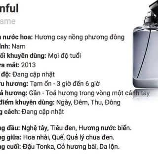 Nước hoa MANFUL của gyi8y tại Sóc Trăng - 2348058
