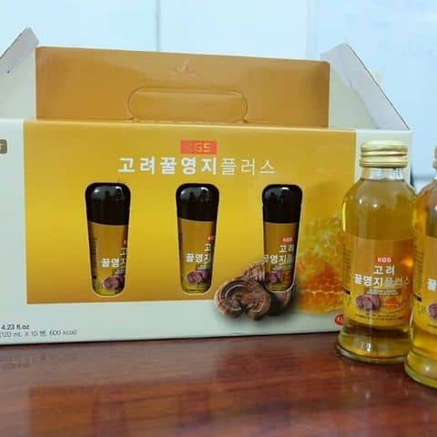 Nước linh chi mật ong nhập khẩu Hàn Quốc - 5792602 banhkeonhapkhauhq - Bánh Kẹo Nhập Khẩu - 430 Hồng Bàng, Phường 16, Quận 11, Hồ Chí Minh
