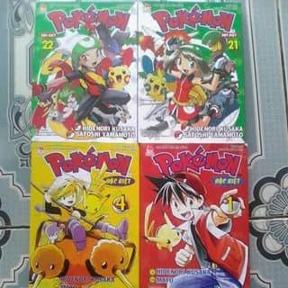 Pokemon đặc biệt tập 1,4,21,22 của tienpt tại Thừa Thiên Huế - 2785392