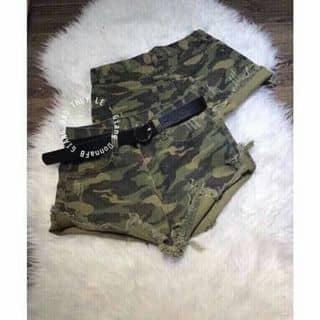 🎀 Quần short jeans lưng cao màu lính của hantyle tại Hồ Chí Minh - 3704708