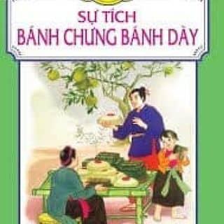 Sách truyện tranh cổ tích bánh chưng bánh dày của huynhgiaminh tại Sóc Trăng - 3522972