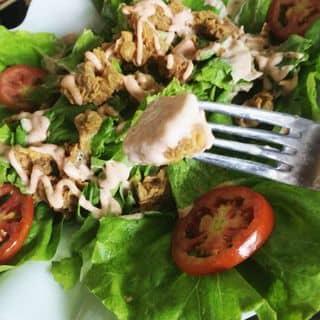 Salad gà rán giòn của embeols123 tại Tầng 3, TTTM Đồng Tiến, 40 Lê Lợi, Vĩnh Trại, Thành Phố Lạng Sơn, Lạng Sơn - 502428