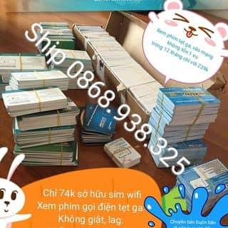 Siêu sim 4G vào mạng giá rẻ của thaonguyen2552 tại Hà Nam - 2076547