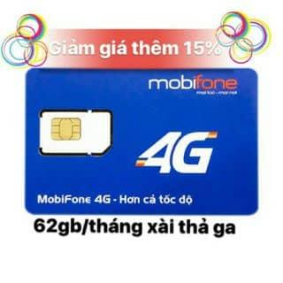 SIM 4G MOBI DATA KHỦNG 62GB/tháng của huyenhuyen352 tại Bình Phước - 3423417