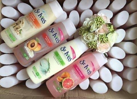 sữa tắm St.ives phù hợp với mọi loại đối tượng
