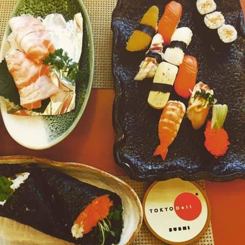 Các hình ảnh được chụp tại Tokyo Deli - Võ Văn Tần