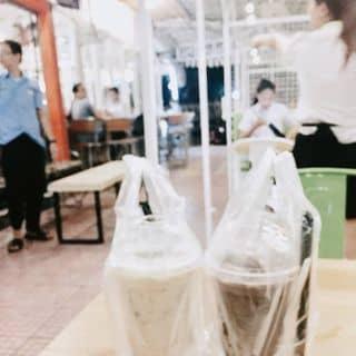 Trà sữa đào + trà sữa socola của yoongladykillah tại 3 Hà Huy Tập, Thành Phố Huế, Thừa Thiên Huế - 1919271
