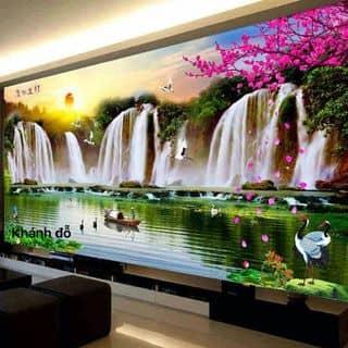 Tranh sông núi chữ thập của mom27 tại Chợ Trà Vinh, phường 3, Thị Xã Trà Vinh, Trà Vinh - 1196363