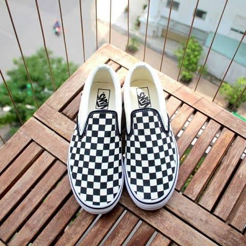 vans checkerboard chính hãng