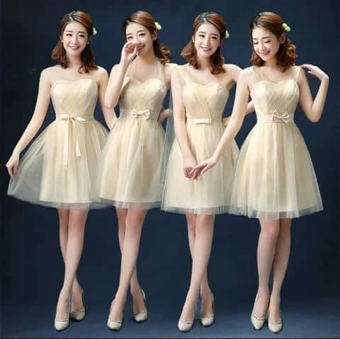 Những mẫu váy cưới Hàn Quốc trẻ trung, năng động