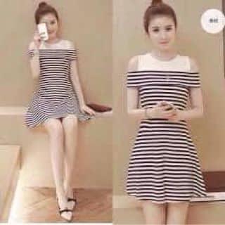 Váy kẻ sọc Zara của rentrang2 tại Shop online, Huyện Điện Biên, Điện Biên - 3457575